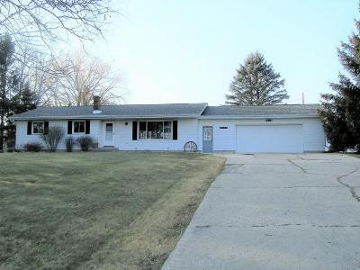 Single Family Home For Sale: N6617 Sunset Rd