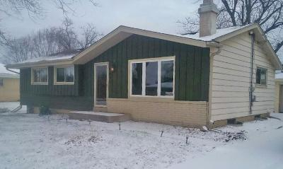 Caledonia Single Family Home Active Contingent With Offer: 7841 Hagemann Rd