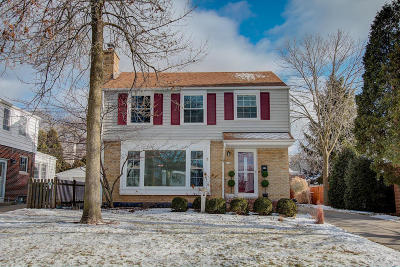 Whitefish Bay Single Family Home Active Contingent With Offer: 6148 N Santa Monica Blvd