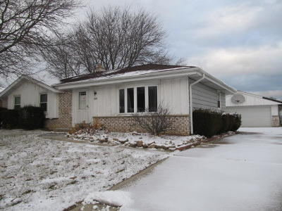Single Family Home For Sale: 7640 S Manitowoc Ave