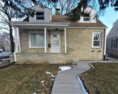 Milwaukee Single Family Home For Sale: 3600 S 35th