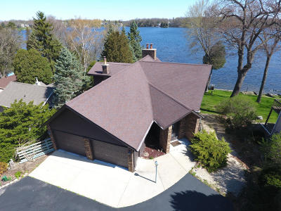 Racine County Single Family Home For Sale: 33730 S Lakeshore Dr