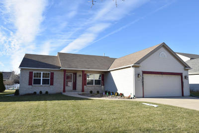 Waukesha Single Family Home Active Contingent With Offer: 3608 Bayberry Dr
