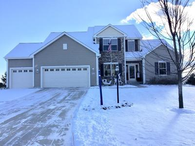 Washington County Single Family Home Active Contingent With Offer: W141n10550 Wooded Hills Dr