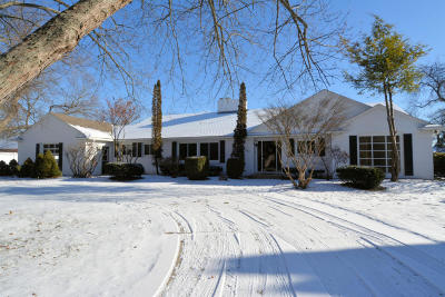 Racine Single Family Home For Sale: 111 Shore Acres Dr