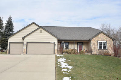 Washington County Single Family Home Active Contingent With Offer: N102w14136 Sunberry Rd