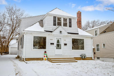 Greenfield WI Two Family Home Active Contingent With Offer: $189,900
