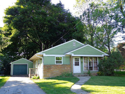 Walworth Single Family Home Active Contingent With Offer: 223 Wood St
