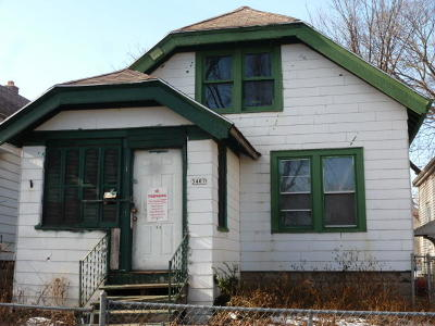 Milwaukee Single Family Home For Sale: 3407 N 17th St