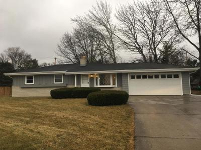 Hales Corners Single Family Home Active Contingent With Offer: 12143 W Janesville Rd