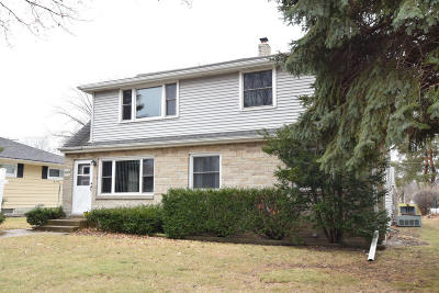 West Allis Two Family Home Active Contingent With Offer: 10147 W Cleveland Ave #49