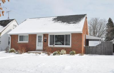 South Milwaukee Single Family Home For Sale: 2905 15th Ave