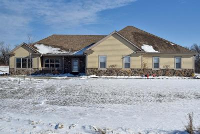 Racine County Single Family Home Active Contingent With Offer: 7900 Stone Creek Way