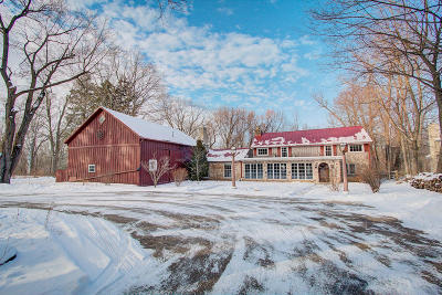 Milwaukee County Single Family Home For Sale: 8200 N Green Bay Rd
