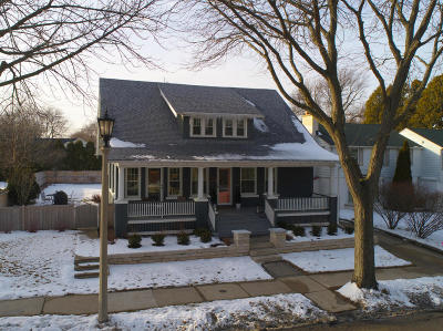 Milwaukee County Single Family Home Active Contingent With Offer: 5955 N Lake Dr