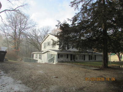 Single Family Home For Sale: N6815 Queens Rd