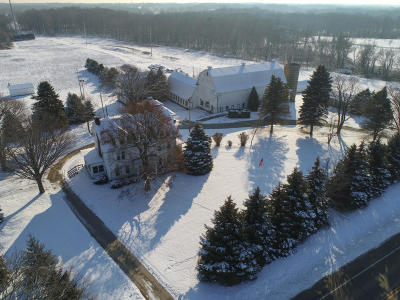 Racine County Single Family Home For Sale: 4531 State Highway 38