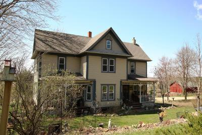Watertown Single Family Home For Sale: N1181 Braasch Rd
