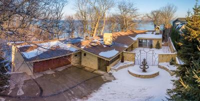 Milwaukee Single Family Home Active Contingent With Offer: 3378 N Lake Dr