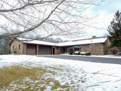 Kenosha County Single Family Home Active Contingent With Offer: 33215 125th St