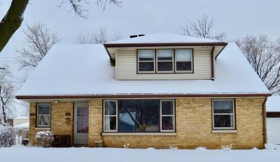 West Allis Two Family Home Active Contingent With Offer: 1343 S 95th St