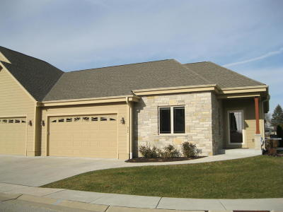 Waukesha Condo/Townhouse Active Contingent With Offer: 534 Garden Prairie Dr #7