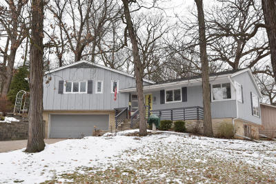 Waukesha Single Family Home Active Contingent With Offer: 602 Downing Dr