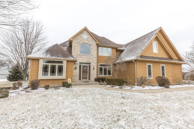 Pewaukee Single Family Home For Sale: N18w29868 Crooked Creek Rd