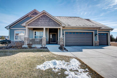 Mukwonago Single Family Home Active Contingent With Offer: 1353 Orchard View Ln