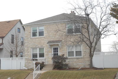 South Milwaukee Two Family Home Active Contingent With Offer: 2404 5th Ave