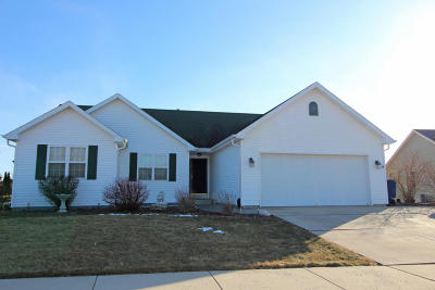 Racine County Single Family Home Active Contingent With Offer: 8333 Broadway Dr