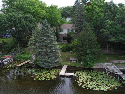 Mukwonago Single Family Home For Sale: S107w34878 S Shore Dr