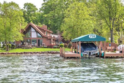 Lake Geneva Single Family Home For Sale: W3252 Park Dr