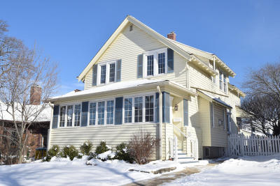 Whitefish Bay Single Family Home Active Contingent With Offer: 5944 N Santa Monica Blvd