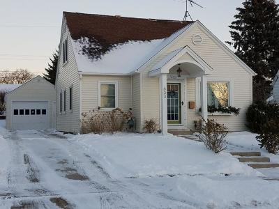Washington County Single Family Home Active Contingent With Offer: 633 Wolcott St
