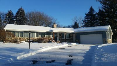 Washington County Single Family Home Active Contingent With Offer: W213n10270 Beech Dr