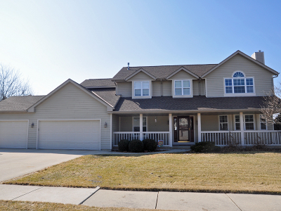 West Bend Single Family Home Active Contingent With Offer: 933 Schloemer Dr