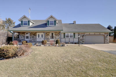 Kenosha County Single Family Home Active Contingent With Offer: 12221 87th Ave