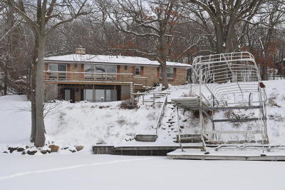 Whitewater Single Family Home Active Contingent With Offer: N7689 E Lakeshore Dr