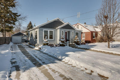Kenosha Single Family Home Active Contingent With Offer: 4516 24th Ave