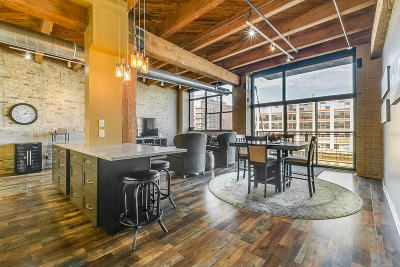Milwaukee County Condo/Townhouse Active Contingent With Offer: 200 S Water St. #201
