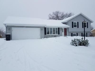 Menomonee Falls Single Family Home Active Contingent With Offer: N49w14033 Brook Falls Dr