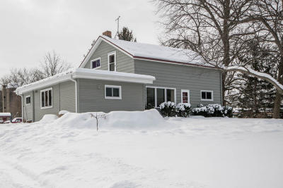 Waukesha County Single Family Home Active Contingent With Offer: S76w24695 National Ave