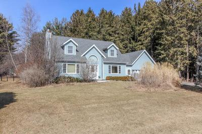 Cambridge Single Family Home For Sale: N4476 Whispering Pines Ln