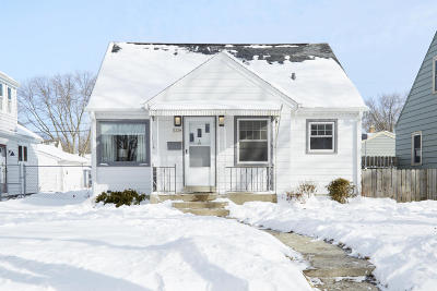 Milwaukee County Single Family Home For Sale: 3254 N 88th St