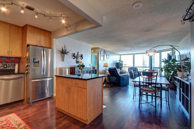 Milwaukee Condo/Townhouse Active Contingent With Offer: 1660 N Prospect Ave #1212