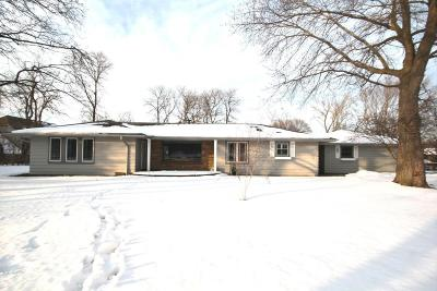 Waukesha County Single Family Home Active Contingent With Offer: 15100 W Bluemound Rd