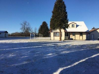 Mukwonago Single Family Home For Sale: 1460 Honeywell Rd