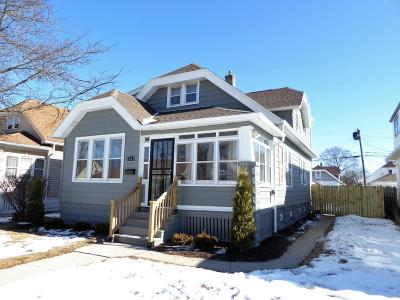Milwaukee County Single Family Home For Sale: 4444 N 57th St