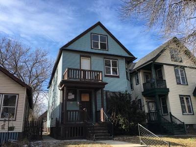 Milwaukee County Two Family Home For Sale: 223 N 36th St #223A